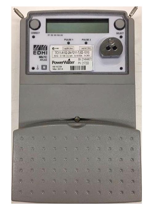 Single phase electronic meter